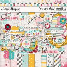 [every day] april is by lauren grier at sweet shoppe designs