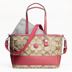 COACH  BABY BAG ((any color will do... :-D ))