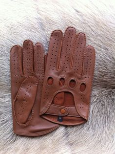 DRIVING leather gloves , deer skin leather, Männer fahren Lederhandschuhe ,Les gants de conduite en cuir pour hommes on Etsy, $50.00