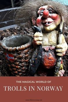 Do they live under rocks, in forests or behind waterfalls? Are they even real? Discover the mythical world of Norwegian Trolls Norway Culture, History Of Norway, Norway Travel, Tromso, Trondheim, Norse Mythology, Plan Your Trip, Forests, Waterfalls