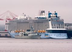 One of the world's largest cruise ships sails into Halifax | Canada | Travel | T