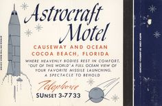 https://flic.kr/p/QWdks8 | Astrocraft Motel - Cocoa Beach, Florida | 40 Beautiful Motel Rooms All with Ocean View Television - Central Air Conditioning & Heating - Fresh Water Pool Causeway & Ocean - Cocoa Beach, Florida