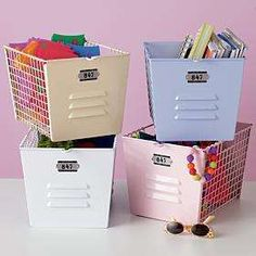 Benefits of using metal storage bins storage containers
