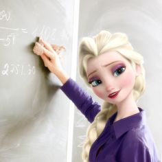 That is it! I want Elsa as one if my teachers at school!!