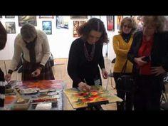 Intuitive painting (Интуитивная живопись) Artist Алёна Островская. - YouTube