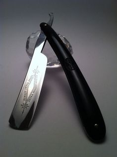Finest India Steel #straightrazor #shave