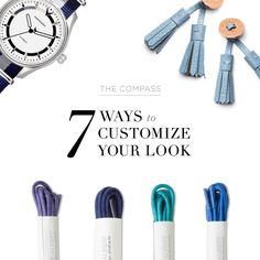 7 Ways to Customize Your Look (click image to read more).
