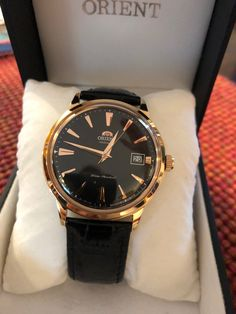 Orient Bambino 2nd Gen -  Rose Gold (FAC00001B0)