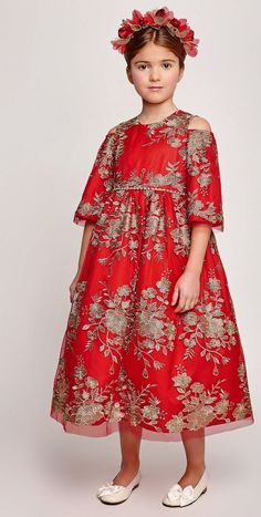 ALALOSHA: VOGUE ENFANTS: Must Have of the Day: Graci It Best: The Exquisite Embroidered Dresses