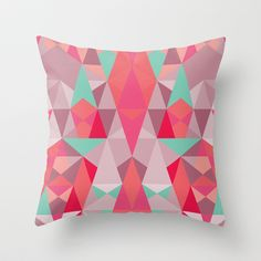 Simply III Throw Pillow by Leandro Pita - $20.00 design for kids