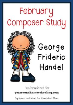 This FREE 10-page Composer Unit Study Pack on Handel includes poster page, bio pages, notebooking pages and a timeline page!!