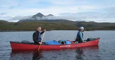 Canoeing and Hiking - North West Highlands - Lochs and Mountains