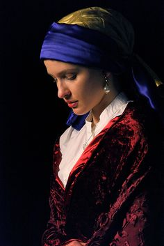 """Girl With The Pearl Earring"" by Aisha Rose"