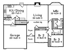 Hollybridge One Story Home Plan 058D-0016 | House Plans and More