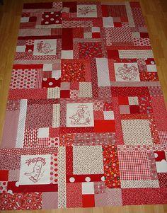 Turning Twenty quilt pattern Overall size = 62x86 Block 12? 4 blocksx6 blocks 24 blocks ...