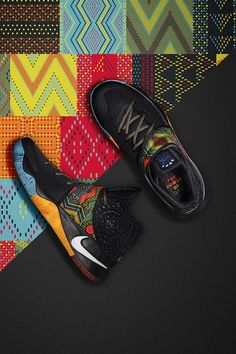Nike Kyrie 2 'Black History Month' I have these they r awesome! Mens Fashion Shoes, Sneakers Fashion, Shoes Sneakers, Running Sneakers, Running Shoes, Girl Fashion, Sports Shoes, Basketball Shoes, Air Jordan