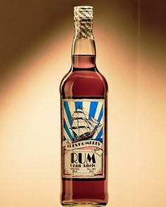 Premium RUM Co2 free transported by  sailing vessel theTRES HOMBRES (fair transport)