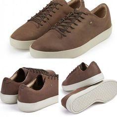 Le marron n'est pas si laid.  #PourHomme #PwearShop #ModeHomme #Baskets #Sneakers  http://p-wearcompany.com/p-wearshop/