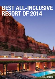 Time to kick back and relex in the fabulous spa of Sedona, AZ!  Check out this article!
