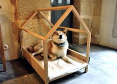 DIY: A Très Elegant Dog Bed, Paris Edition