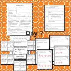 This Representing Fractions teaching unit provides 10 days of instruction Math Lesson Plans, Math Lessons, Fractions, Math Blocks, Data Tracking, Learning Targets, Math Manipulatives, Math Words, Student Data