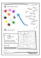 A bunch of free worksheets to print off! :)