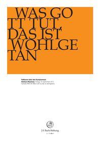 """BWV 99: Barbara Neymeyr    Reflexion über den Kantatentext    Barbara Neymeyr über BWV 99 """"Was Gott tut, das ist wohlgetan""""    14. September 2012 Foundation, September, Decor, God, Decoration, Foundation Series, Decorating, Deco"""