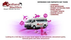 Experience Our Fantastic Day Tours Looking for a full day tour in your local region to visit wineries, amusement parks, national parks and other attractions? #ShuttleServiceSydney www.Redlandshuttles.com.au