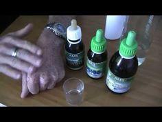 Cómo utilizar AMS junto con DMSO para uso tópico en los casos de problemas de la piel / Enfermedades