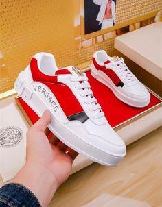 Versace casual shoes for men # 663547 - Casual Shoes Versace Shoes, Versace Fashion, Versace Men, Zapatos Louis Vuitton, Louis Vuitton Shoes Sneakers, Mens Fashion Shoes, Sneakers Fashion, Sneaker Dress Shoes, Casual Shoes