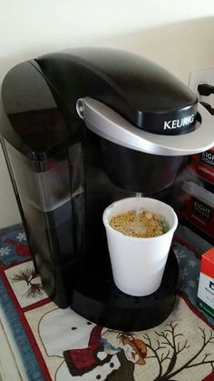 A different way to use the Keurig!
