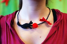 Kitty necklace at IMWe 2014