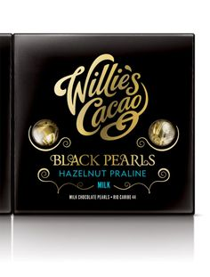 Willie's Cacao: Wonders of the World and Black Pearls - The Dieline -