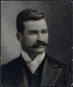 """1887 Formal portrait of Michael """"King"""" Kelly - Digital Commonwealth College Library, Boston Public Library, Online Library, Valley College, Body Adornment, Michael J, Historical Society, Photographic Prints, King"""