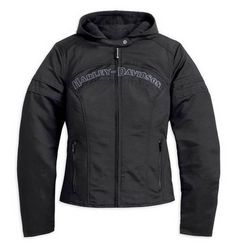 Free shipping - Harley-Davidson Women's Miss Enthusiast Outerwear Jacket, Black 98519-12VW - Womens/Jackets & Vests/Casual Jackets -