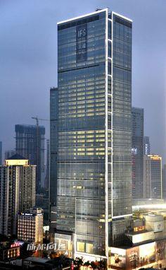 Chengdu IFS Tower 1 & 2 Chengdu, China;  248 m – 48 fl; completion 2014