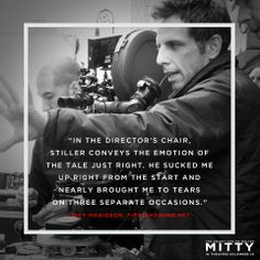 I have a lot more respect for Ben Stiller now. Ben Stiller directs the captivating story of The Secret Life Of Walter Mitty. Love Movie, Movie Tv, Movies Showing, Movies And Tv Shows, Life Of Walter Mitty, Ben Stiller, People Of Interest, About Time Movie, Director
