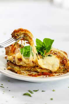 A classic Baked Eggplant Parmesan with breaded eggplants, marinara sauce, and hot bubbling mozzarella and parmesan. It's the ultimate Italian comfort food. Veggie Dishes, Veggie Recipes, Vegetarian Recipes, Cooking Recipes, Healthy Recipes, Italian Eggplant Recipes, Italian Dishes, Italian Recipes, Chicken Eggplant