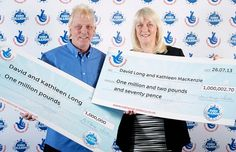 Couple wins £1 million in the EuroMillions lottery twice in 20 months! http://blog.icelotto.com/lotterynews/couple-wins-1-million-in-the-euromillions-lottery-twice-in-20-months/