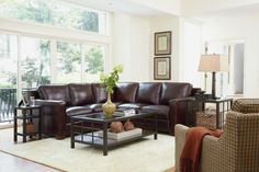 Canyon Grove Living Room featuring Thomasville Metro Sectional (0514-08)