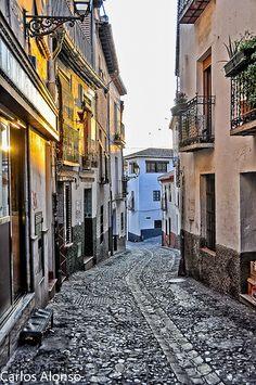 Callejeando por el Albaicin, Granada  Spain http://whc.unesco.org/en/list/314