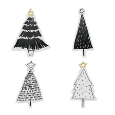 Celebration Tree Ornament Set Of White & Black. christmas ornaments rustic CELEBRATION Tree Ornament Set of White & Black Diy Christmas Lights, Christmas Love, Rustic Christmas, Handmade Christmas, Christmas Tree Decorations, Christmas Trees, Scandinavian Christmas Ornaments, Swedish Christmas, Xmas Lights