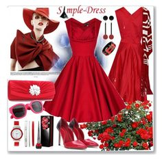 """""""www.simple-dress.com 14"""" by ane-twist ❤ liked on Polyvore featuring Michael Kors, Marni, Christian Louboutin, vintage and simpledress"""