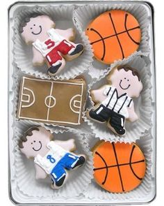 basketball cookies - Google Search