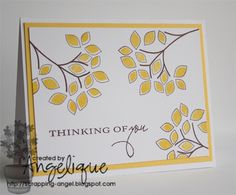 Bits and pieces of my life: StampinUp - SU! Inkt and Cardstock