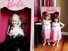 {Fashion Runway} Stylish PINK Barbie Party. I'm sure there's no party I would've rather had as a child.