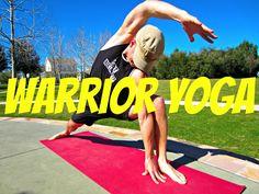 30 Min Strength Warrior Yoga Workout - Fat Burning Yoga Class #poweryoga