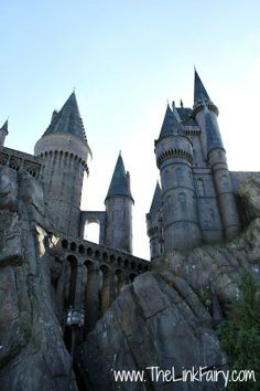 Hogwarts Castle in the Wizarding World of Harry Potter at Universal Studios FL #UniversalHolidays