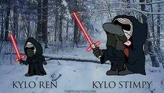 Kylo Ren ... Kylo Stimpy
