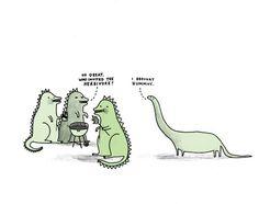 cute dinosaur print